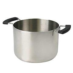 無印良品:ステンレスアルミ:全面三層鋼:片手鍋:鍋: